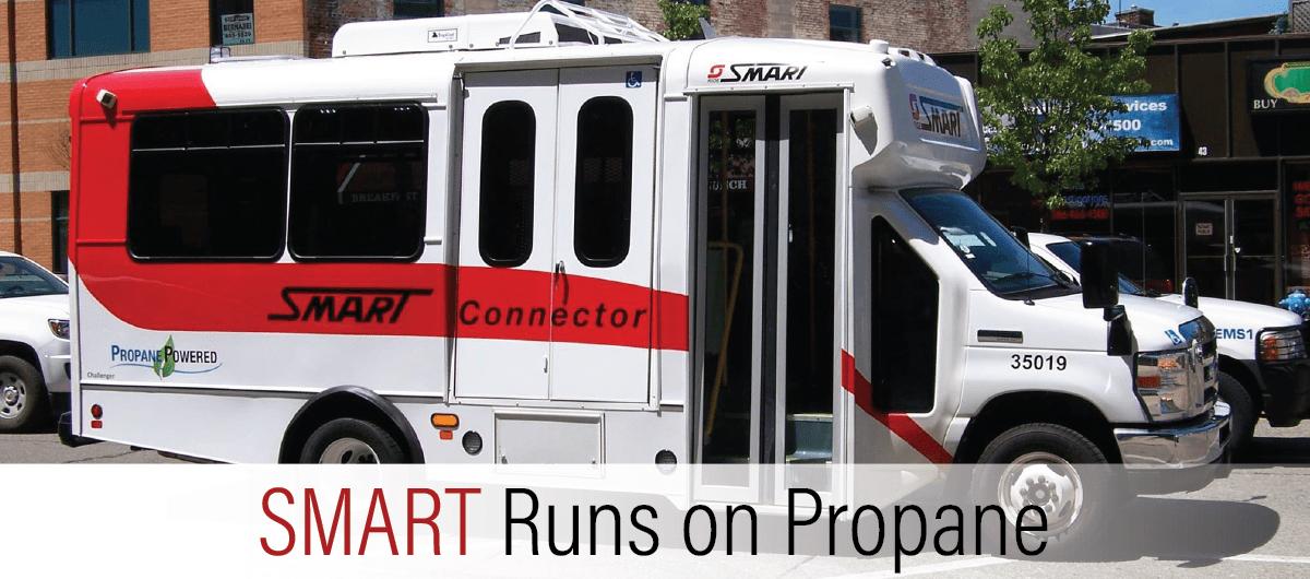 SMART Chooses Propane to Reduce Costs AND Expand Their Fleet